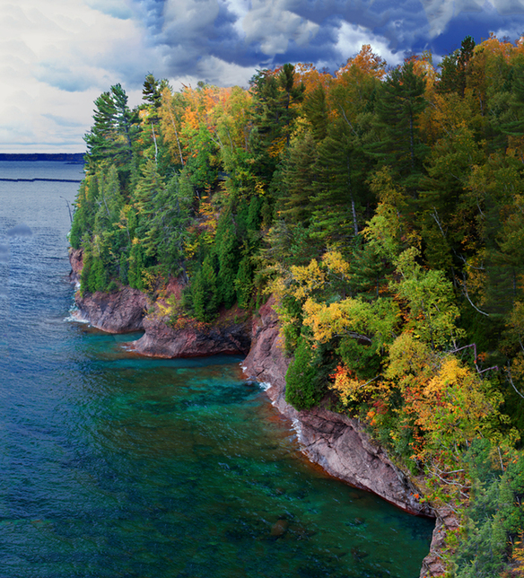 Presque Isle Marquette Michigan Photography