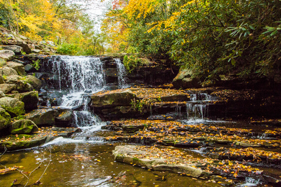 West Virginia Fall Scenery Nature Photography