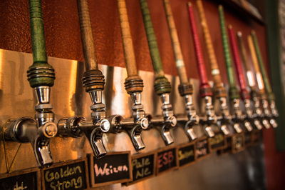 Staas Brewery Beer Taps