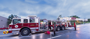 Delaware Ohio Firetruck Photography