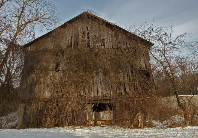 Old Winter Barn Wooster Ohio