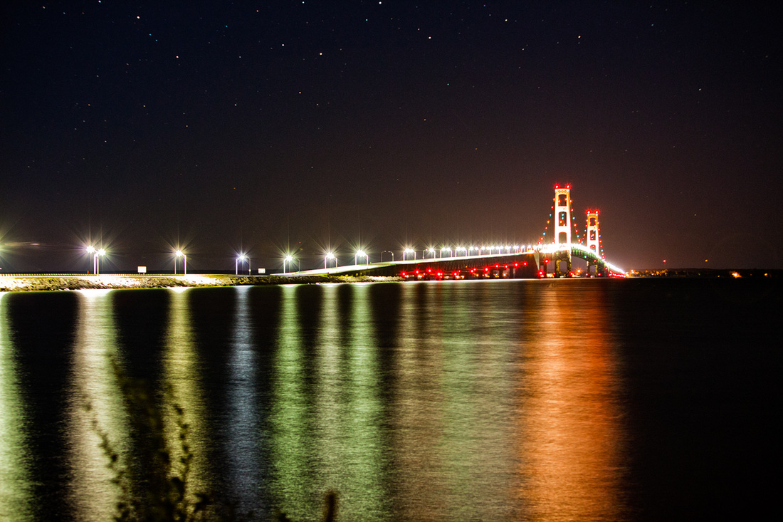 Mackinac Bridge Michigan Photography
