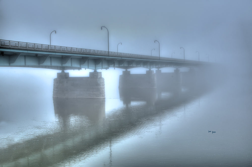 Harrisburg Pennsylvania Bridge Fine Art Photography