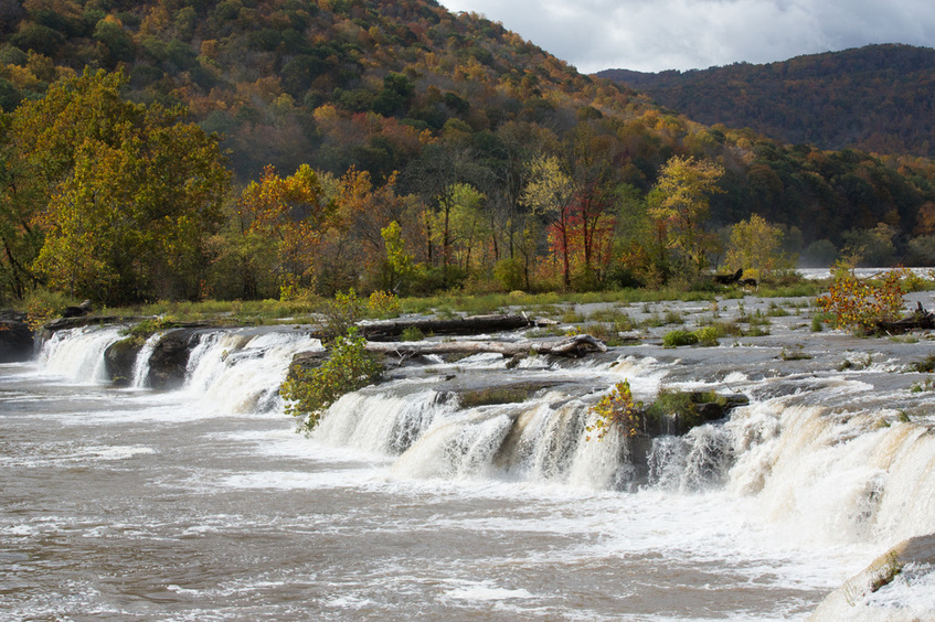 Sandstone Falls West Virginia