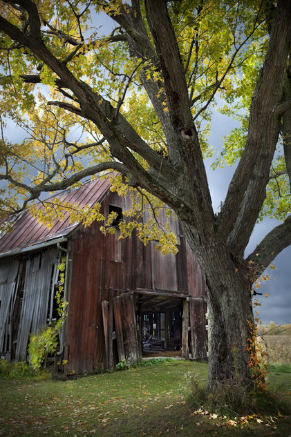 Old Red Barn Ohio Photography