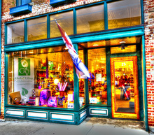 Global Village Storefront Ohio Commercial Photography